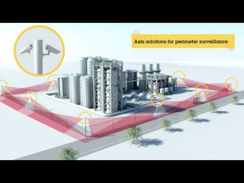 See how to efficiently protect your perimeter with network video from Axis