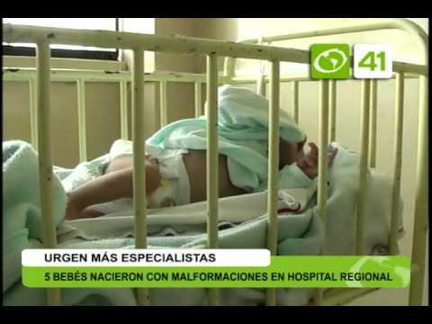 5 bebés nacieron con malformaciones en hospital Regional - Trujillo