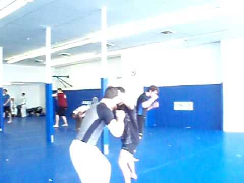 Grappling with Ricardo Almeida: Transition to a Takedown with Frank Edgar Image 1