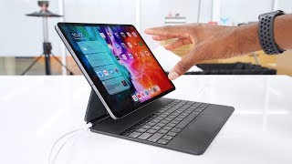 Apple Magic Keyboard: Floating iPad Pro?