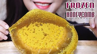 ASMR FROZEN HONEYCOMB (Satisfying STICKY SOUNDS) NO TALKING | LINH ASMR
