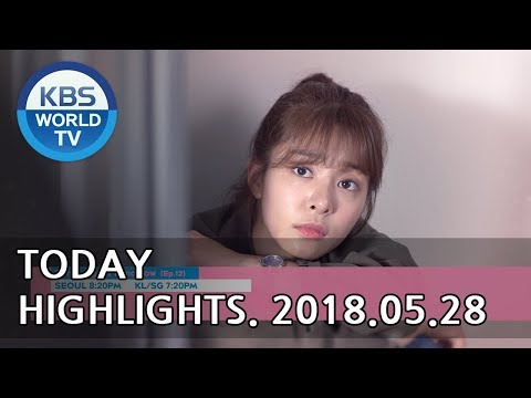 Today Highlights-Mysterious Personal Shopper E61/Sunny Again Tomorrow E12/Ent. Weekly[2018.05.28]