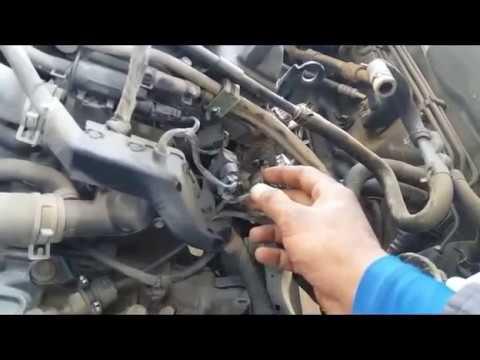 Hyndai Sonata 2015 Crank sensor Location and test