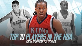 Top 10 NBA Players from Southern California
