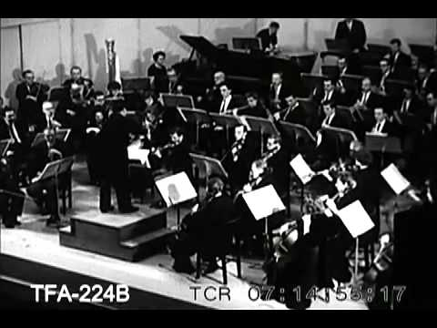 Salute to the Caracas, Venezuela by the Indianapolis Symphony Orchestra, Indianapolis (1956)