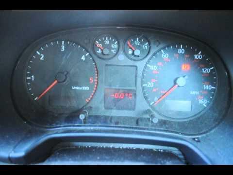 Audi a3 2000 tdi 1 9 dashboard problem youtube