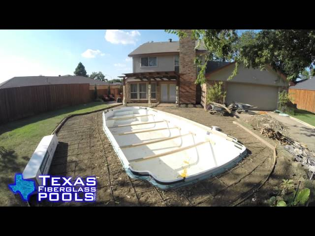 Texas Fiberglass Pools Plano Remodel BnA