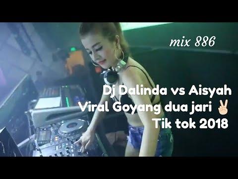 Dalinda Vs Aisyah Goyang Dua Jari ORIGINAL Tik Tok Remix 2018 ⚫FullHD 1080p