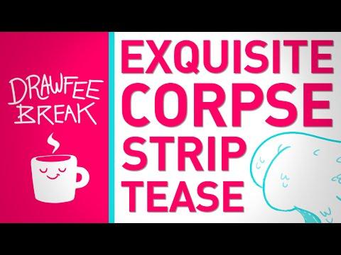 Drawing Strip Tease - DRAWFEE BREAK