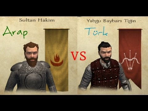 Mount & Blade dombra Arab vs Turk