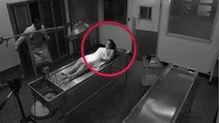 7 Momentos de Miedo captados en la Morgue