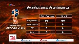Khán giả chung tay bảo vệ bản quyền World Cup 2018 - Tin Tức VTV24
