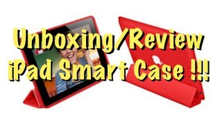 El Nuevo  iPad Smart Case  !!! Unboxing/Review