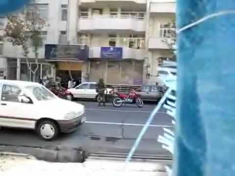 Iran Live News | Security and Basiji Forces | Today Tehran 4 November 2009 Demonstration,