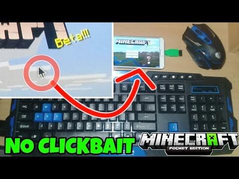 Cara Bermain Minecraft Pe Di Android Mengunakan Keyboard Dan Mouse...!!! No Clickbait, 100% Working