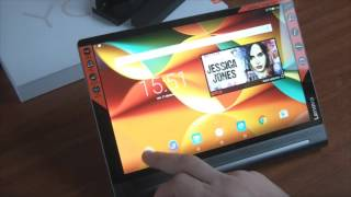 Test tablette tactile Lenovo Yoga Tab 3 Pro - multiméda