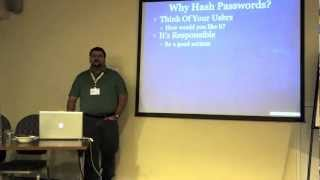 Password Hashing in PHP