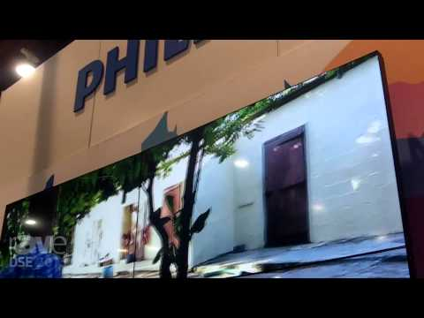 DSE 2015: Philips Details 55″ BDL5588XL Video Wall
