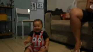 Baby Laughs After Sneezing (Brazil)