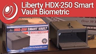 Overview - Liberty HDX-250 Smart Vault Biometric Handgun & Pistol Safe