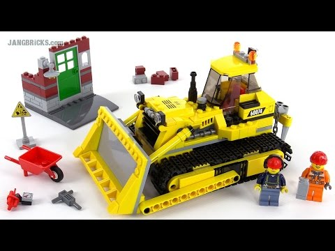 LEGO City 2015 Bulldozer review! set 60074