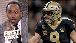 Saints fans should plan Super Bowl reservations - Stephen A. | First Take