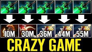 Download AhJit 3x Divine 10 Min BF Ember Carry Dota 2 Crazy Game 3Gp Mp4