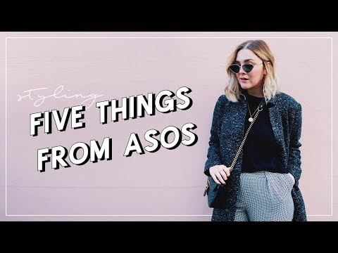 ASOS HAUL + TRY ON   STYLING FIVE THINGS FROM ASOS   I Covet Thee