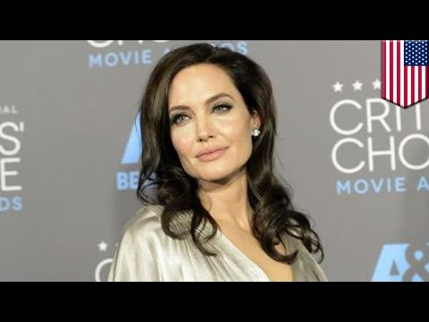 Angelina Jolie Surgery: Fearing Ovarian Cancer, Actress Removes Her Fallopian Tubes And Ovaries video