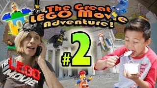 The GREAT LEGO MOVIE ADVENTURE! Episode 2 - WASHINGTON D.C.