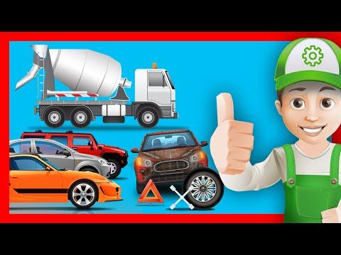 Хочу Знать Все - Приключения Винтика и его машинки на дороге. Мультфильм 1-3 серия вместе
