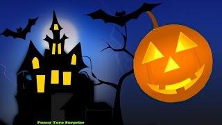 Halloween Haunted House Songs Children Elsa Skeletons Witch Ghost Monster Zombie Vampire Cartoon