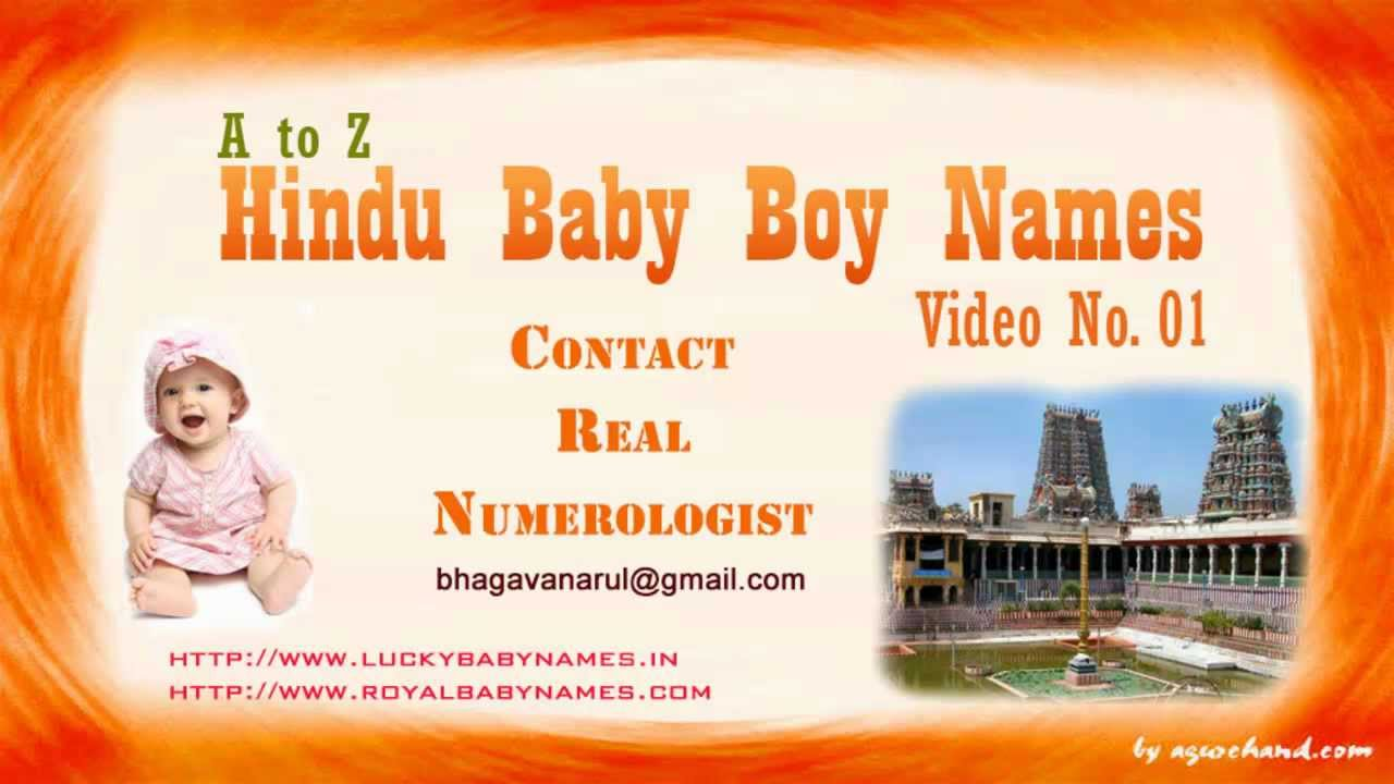 Famous Youtubers Names Famous Indian Baby Boy Names