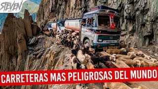 Most Dangerous Roads in the World 2017 | TOP 10