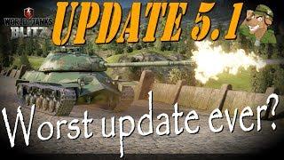 Update 5.1 | The worst update ever? | World of Tanks Blitz