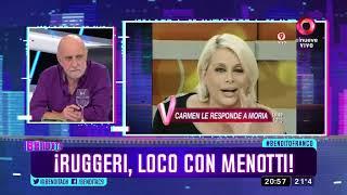 ¡Ruggeri, loco con Menotti!