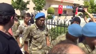 Denizli'de 105'i Rütbeli 515 Darbeci Gözaltına Alındı