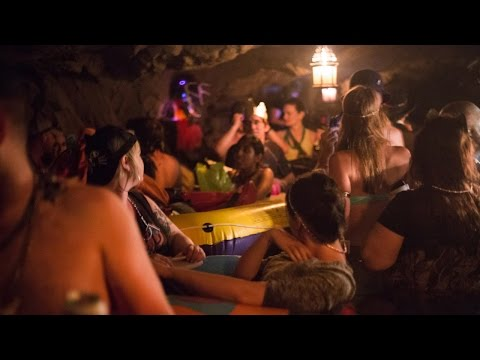 Partying In An Illegal Cave With Pixies, Nymphs And An Arabian Prince