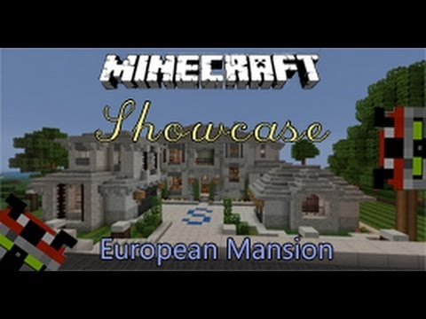 Minecraft Mansion Showcase HD | European Mansion