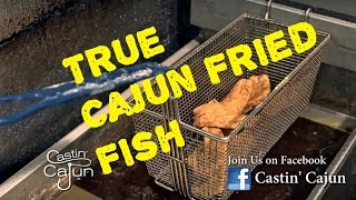 How to Fry Fish Using Tony Chachere Famous Creole Seasoning