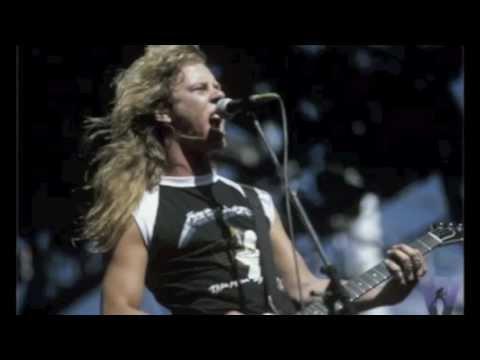 James Hetfield hair/beard styles - 30 years of Metallica: 1981-2011