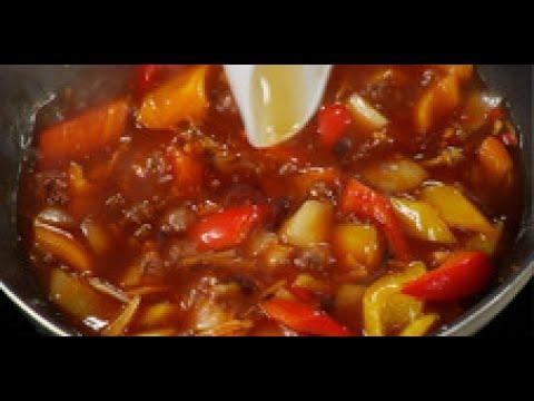 Китайский овощной соус для жареных баклажанов / от шеф-повара / Илья Лазерсон / Обед безбрачия