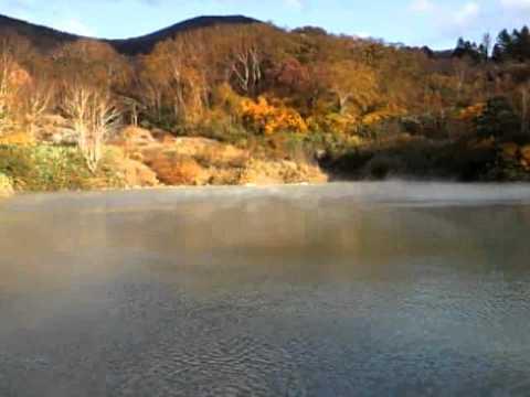 八甲田山 地獄沼の紅葉