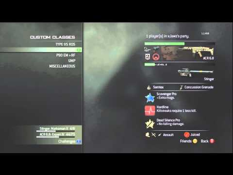 Modern Warfare 3: Best Classes To Rank Up Fast