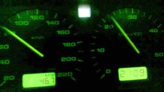 VW Golf III 1.9 TDI 60-100 km/h at 4th gear