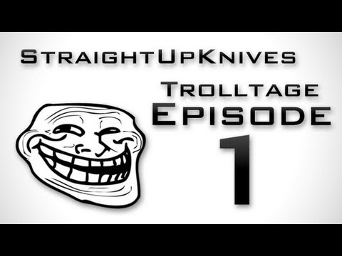 StraightUpKnives: MW3 Trolling - Trolltage 1 (How to Annoy People on MW3)