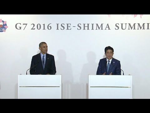 Japan's PM slams U.S. in front of President Obama