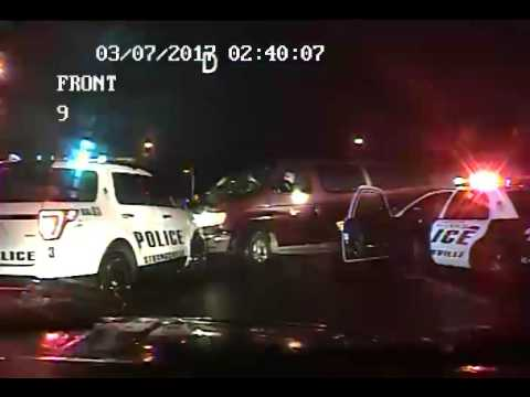 CHASE ENDS WITH POLICE SHOOTING - Dashcam Car 9 [Graphic Content]