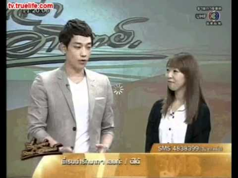 [Rain (Bi) TV]110507 Thailand TV3_Stories Sat-Sun_Rain interview