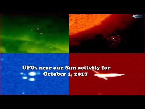 UFOs near our Sun activity for October 1, 2017